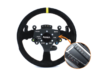 Porsche PDK Steering wheel