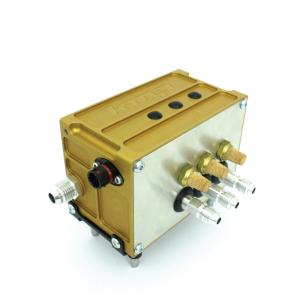 Triple valve block