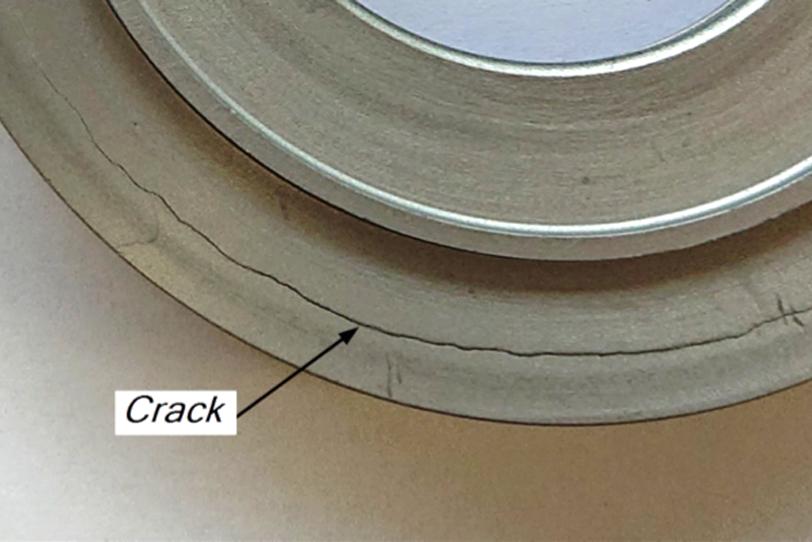 Veyron Cracked Clutch Piston