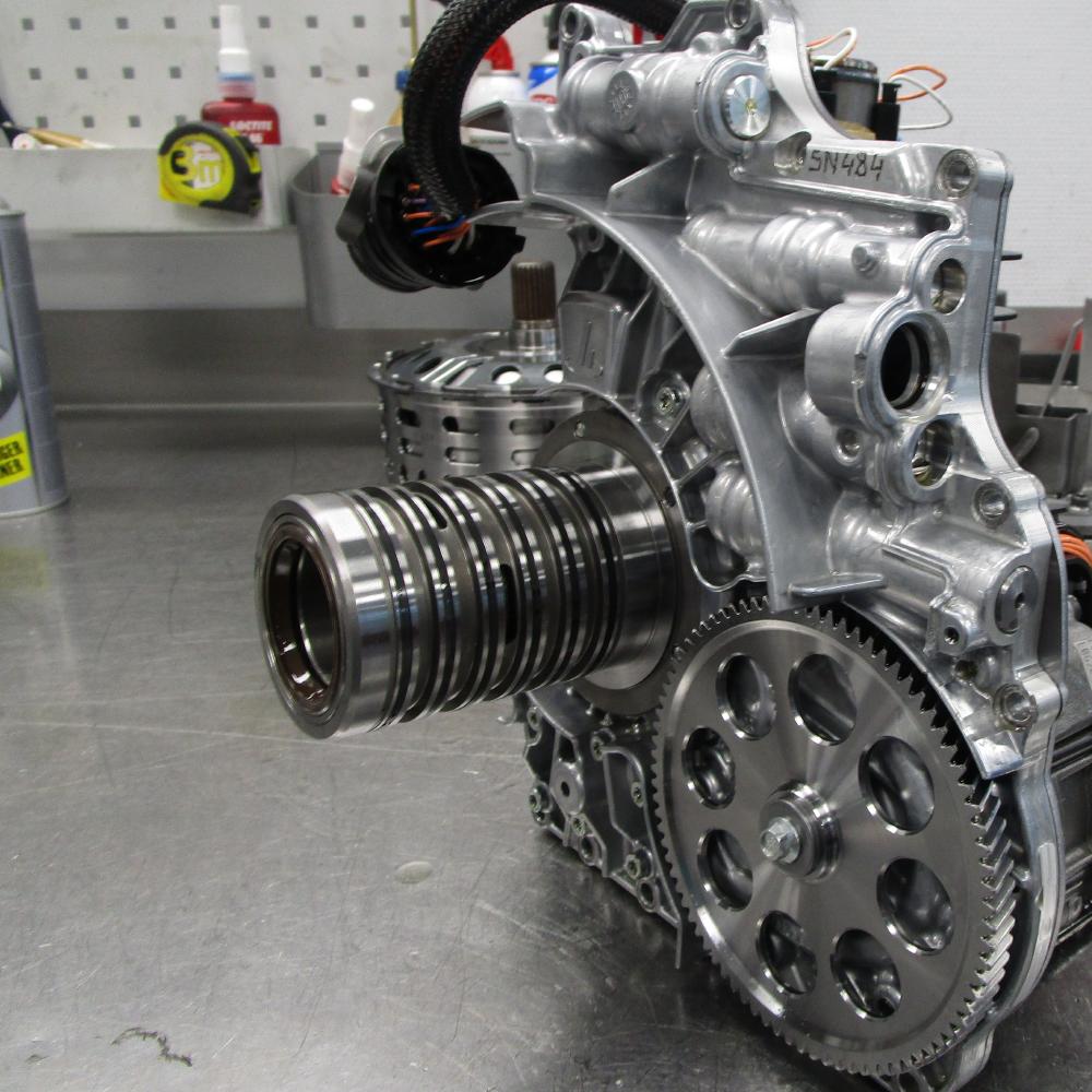 Mclaren inside gearbox